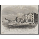 The Lord Warden Hotel, Railway Station & Shakespeares Cliff, Dover (Print)