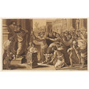 The Sacrifice at Lystra; St. Paul and Barnabas at Lystra; Raphael Cartoons (Print)