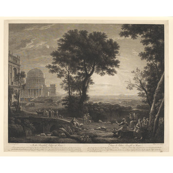 Print - The great annual Sacrifice at the Temple of Apollo in the island of Delos