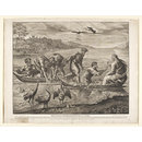 The Miraculous Draught of Fishes; Pinacotheca Hamptoniana; Raphael Cartoons (Print)