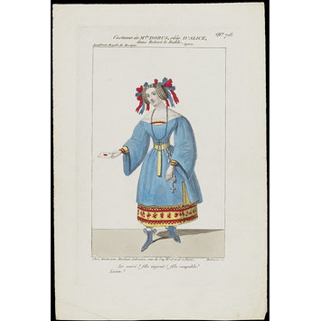 Costume melle sic dorus role d 39 alice dans robert le for Alice dans le miroir balthus