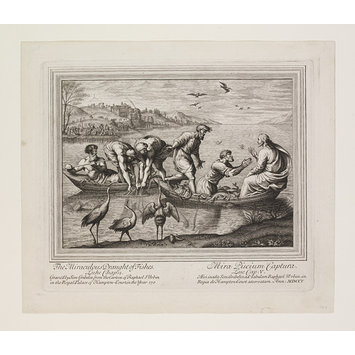 Print - The Seven Famous Cartons [sic] of Raphael Urbin; The Miraculous Draught of Fishes; Raphael Cartoons