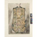 Portrait of the Rev. Edmund Benson wearing a medieval chasuble, Salisbury (Watercolour)