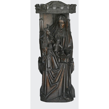 Statue - St Anne with the Virgin and Child