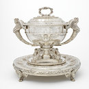 Soup tureen and stand