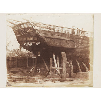 Photograph - Stern of the Demerara  in Dry Dock
