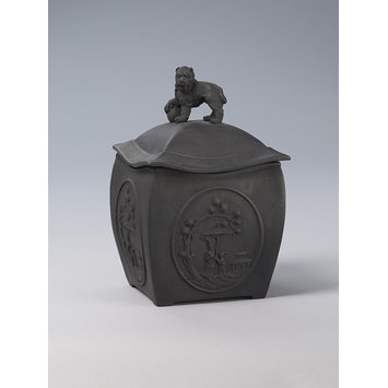 Tea canister and cover