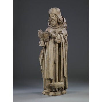 Plaster cast - St Anthony Abbot
