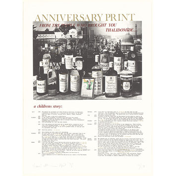 Print - Anniversary Print: From the People Who Brought You Thalidomide...