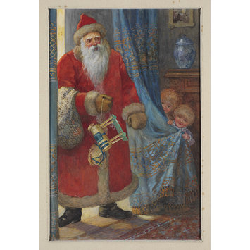 Illustration - Father Christmas