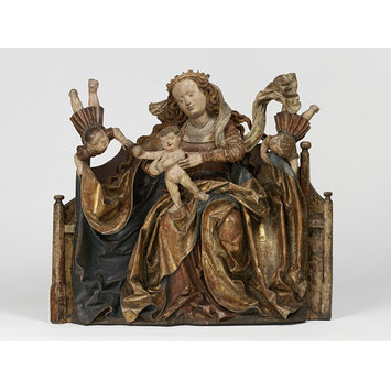 Relief - The Virgin and Child with Angels