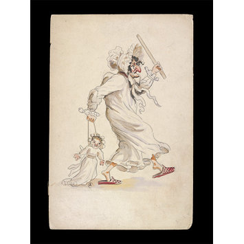 Drawing - George Speaight Punch & Judy Collection