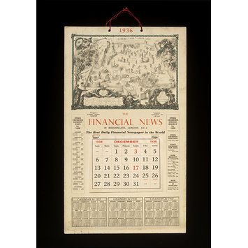 Print - The Financial News Map of the Stock Exchange, London