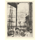 Rotherhithe; Wapping; The Thames Set; A Series of Sixteen Etchings of Scenes on the Thames, and Other Subjects (Print)