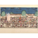 Northern Indian marriage procession (Painting)