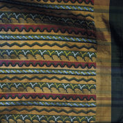 Unsewn cloth for a pah-soe (man's skirt)