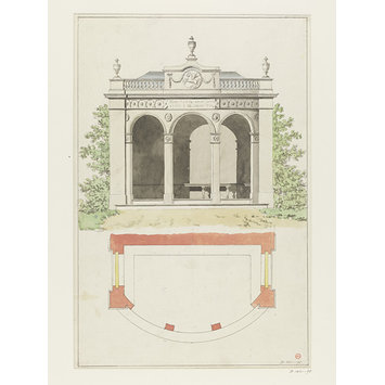 Drawing - Drawing of a pavilion