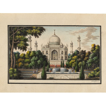 Architectural drawing - Sixty drawings of Mughal monuments and architectural details.