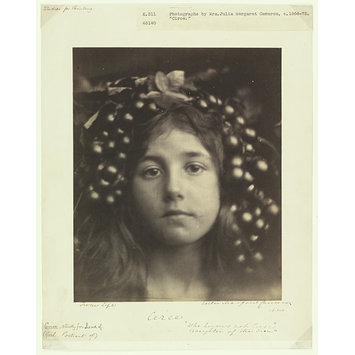 "Photograph - Circe; 'From Life Circe ""Who knows not Circe / Daughter of the Sun""'"