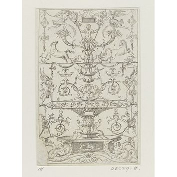 Print - Petites Arabesques; Petits panneaux grotesques; Petites Grotesques