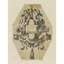 Le Livre de Bijouterie; Fragment of plate showing two designs for pendants (Print)