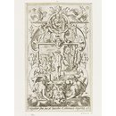 Ceres (plate 14); Set of 20 grotesque panels, containing pagan divinities (Print)
