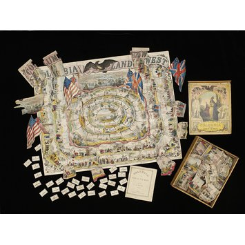 Board game - Columbia; The Land of the West