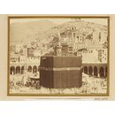 View of the Mosque at Mecca: the walk around the Ka' ba (Photograph)