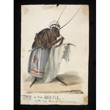 Costume design - THIS is the BEETLE with her thread and needle