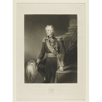 Print - Major General Sir Alexander Dickson, G.C.B