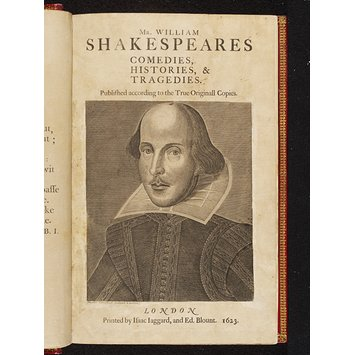 Folio - The First Folio, Shakespeare