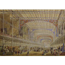 Interior of the Crystal Palace (Watercolour)