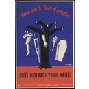Don't Distract Your Mates (Poster)