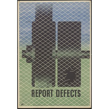 Poster - Report defects