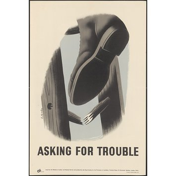 Poster - Asking for trouble