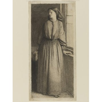 Drawing - Elizabeth Siddal