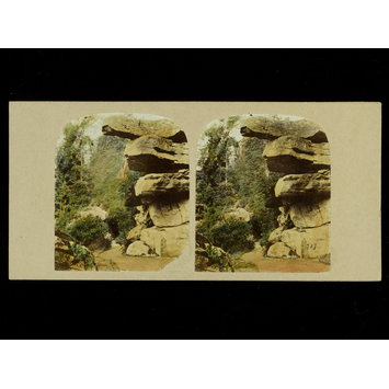 Photograph - View in the Rockery, Chatsworth Pleasure Gardens