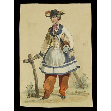 Costume plate