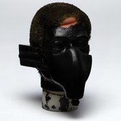 Prototype of battle of britain pilot face mask