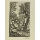 Adam and Eve with the Archangel Raphael (Print)