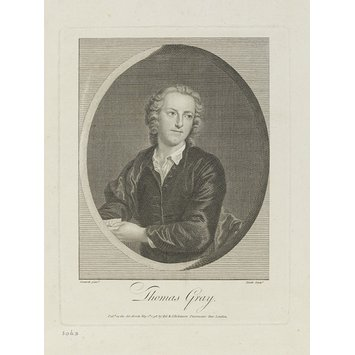 Print - Thomas Gray, Poet