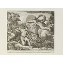 Raphael's Bible; Isaac and Rebecca (Print)
