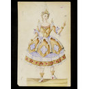 Design for a fancy-dress costume