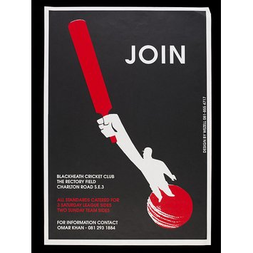 Poster - Join Blackheath Cricket Club