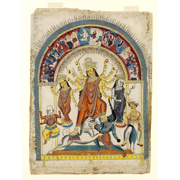 Durga - Durga and Mahishasura