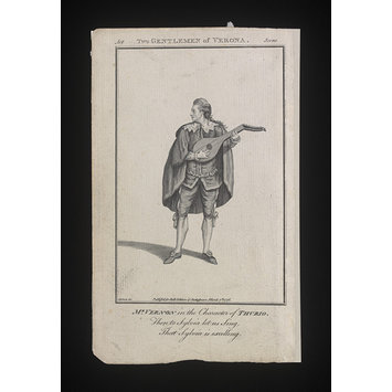 Print - Two Gentleman of Verona/Mr. Vernon in the Character of Thurio