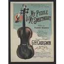My Fiddle is My Sweetheart (Sheet Music)
