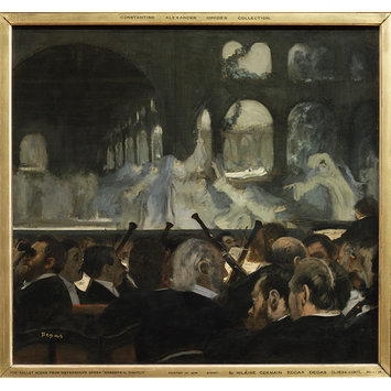 Oil painting - The Ballet Scene from Meyerbeer's Opera Robert Le Diable