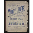 Wot Cher! (Sheet Music)