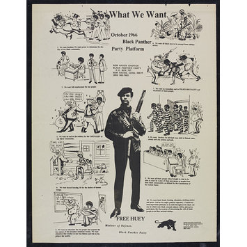What We Want. Black Panther Party Platform (Poster) | V&A ...